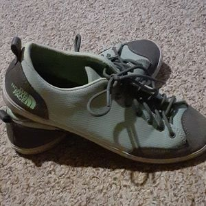 The North Face tennis shoes